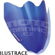 Ermax Sport plexi větrný štítek 22cm - Suzuki Gladius 2009-2015, modré satin