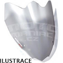 Ermax plexi větrný štítek 30cm - Suzuki GSR600 2006-2007, šedé satin