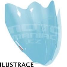 Ermax Piccolo plexi větrný štítek 30cm - Vespa LX 50/125/250 2005-2012, světle modré sky