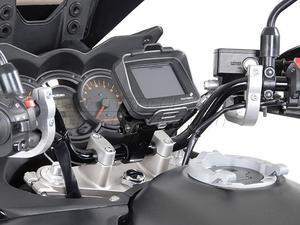 SW-Motech Odpružený držák GPS pro řídítka 22mm černý - 2