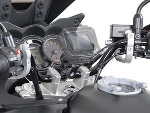 SW-Motech Odpružený držák GPS pro řídítka 28mm stříbrný - 2