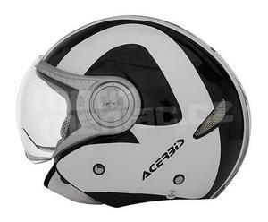 Acerbis Urba-Jet černo-bílá - 2