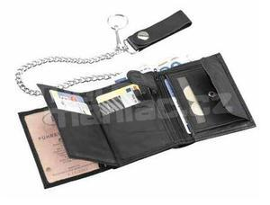 Leather Wallet, black - 2