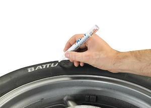 Tyre Pen White, 10 ml - 2