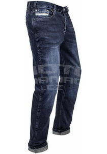 John Doe Kevlar Denim Jeans tmavě modré pánské - 2