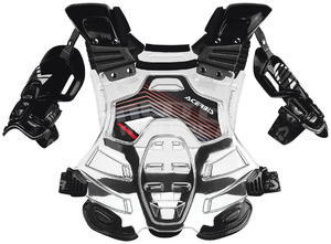 Acerbis Bomber Chest Protector - transparent/black - 2