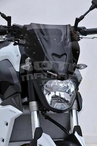 Ermax Sport plexi větrný štítek 27cm - Yamaha MT-07 2014-2015 - 2