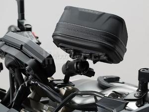 SW-Motech sada Navi Case Pro M + držáky na řidítka 22/28mm - 2
