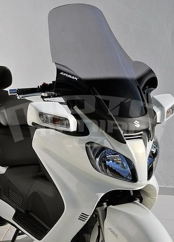 Ermax turistické plexi 81cm (+18cm) - Suzuki Burgman 650 2002-2011 - 2