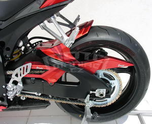 Ermax zadní blatník s krytem řetězu - Suzuki GSX-R600/750 2008-2010, bez laku - 2