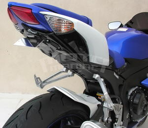 Ermax podsedlový plast s držákem SPZ - Suzuki GSX-R600/750 2008-2010, bez laku - 2
