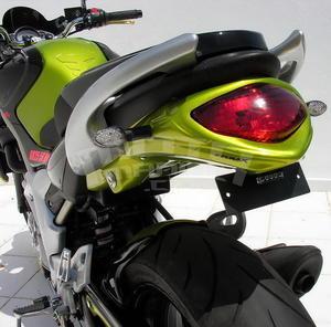 Ermax podsedlový plast - Suzuki Gladius 2009-2015, bez laku - 2