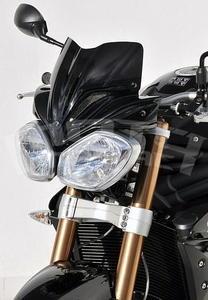 Ermax přední maska s plexi 21cm - Triumph Speed Triple 2011-2016, bez laku - 2