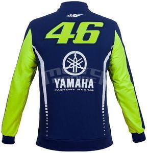 Valentino Rossi VR46 Yamaha mikina pánská - 2