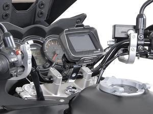 SW-Motech Odpružený držák GPS pro řídítka 28mm stříbrný - 3