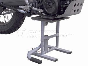 SW-Motech Enduro nožní zvedák pod motor 30-40cm stříbrný - 3