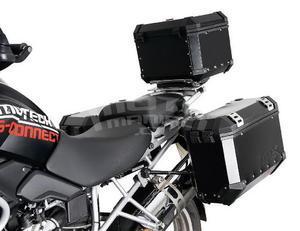 Trax Evo Alu Top-Box 38 Litres, Black - 3