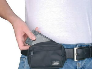 Louis Nylon Belt Bag - 3