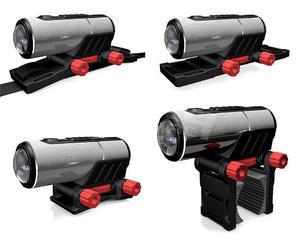 Kitvision Rush HD100W voděodolná sportovní kamera, full HD, Wi-Fi, stříbrná - 3
