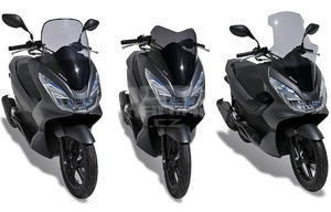 Ermax turistické plexi +25cm (70cm) - Honda PCX 125 2014-2015 - 3