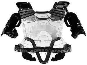 Acerbis Bomber Chest Protector - transparent/black - 3