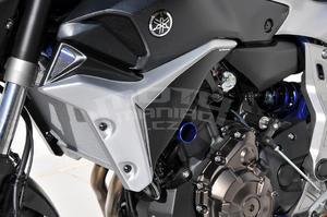 Ermax kryty chladiče Yamaha MT-07 2014-2015 - 3