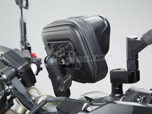 SW-Motech sada Navi Case Pro M + držáky na řidítka 22/28mm - 3