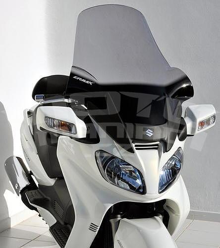 Ermax turistické plexi 81cm (+18cm) - Suzuki Burgman 650 2002-2011 - 3