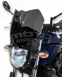 Ermax přední maska s plexi - Suzuki Bandit 650 2009-2011, bez laku/černé kouřové plexi - 3