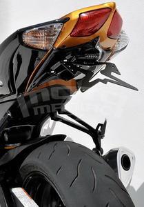 Ermax podsedlový plast s držákem SPZ - Suzuki GSX-R600/750 2008-2010, bez laku - 3