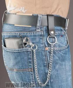 Louis Biker-Wallet With Chain - Premium - 3