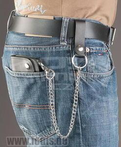 Louis Biker Wallet With Chain - Regular - 3