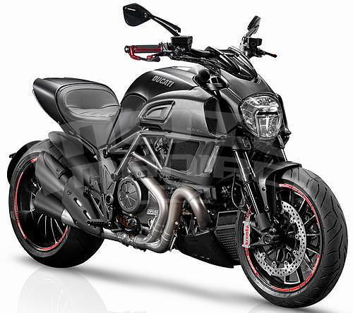 Barracuda padací protektory - Ducati Diavel 1260 2017-2018 - 3