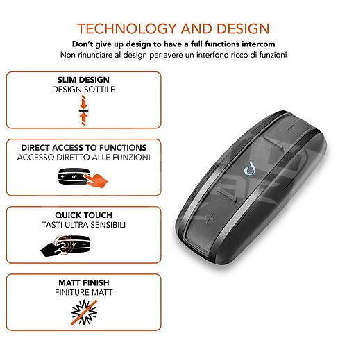 CellularLine Interphone Shape Single Pack - 3