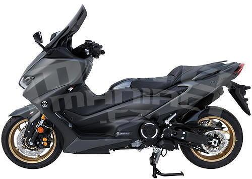 Ermax zadní blatník s AL krytem řetězu - Yamaha TMax 560 2020 - 3