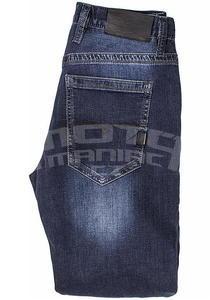John Doe Kevlar Denim Jeans tmavě modré pánské - 4