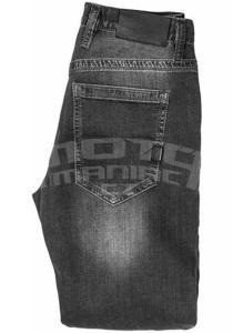 John Doe Kevlar Denim Jeans černé pánské - 4