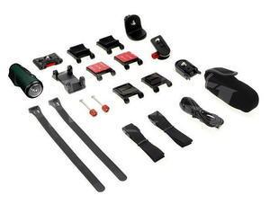 Kitvision Rush HD100W voděodolná sportovní kamera, full HD, Wi-Fi, stříbrná - 4