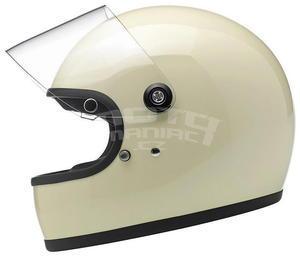 Biltwell Gringo S Gloss Vintage White - vel. XL - 4