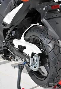 Ermax zadní blatník s krytem řetězu - Suzuki V-Strom 650/XT 2011-2016, bez laku - 4