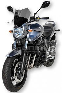 Ermax přední maska s plexi - Suzuki Bandit 650 2009-2011, bez laku/černé kouřové plexi - 4