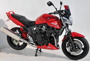 Ermax zadní blatník s krytem řetězu - Suzuki Bandit 650/S 2009-2012, bez laku - 4