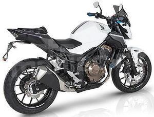 Barracuda zadní blatník s krytem řetězu - Honda CB500F 2016 - 4