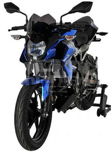 Ermax Sport plexi větrný štítek 26cm - Kawasaki Z125 2019-2020 - 4