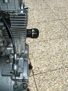 "Rutan protektory rám Honda CB 750 ""Sevenfifty"" 1995-X - 5"