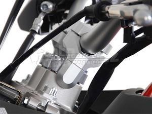 SW-Motech Vario zvýšení řidítek stříbrné - 5