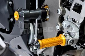 RDmoto protektory předholenní uchycení - Yamaha R1 04-06 - 5