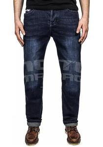 John Doe Kevlar Denim Jeans tmavě modré pánské - 5
