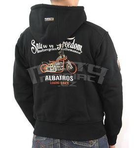 Motorcycles Performance Albatros Black mikina - 5