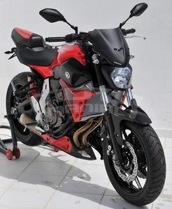Ermax kryt sedla spolujezdce Yamaha MT-07 2014-2016 - 5